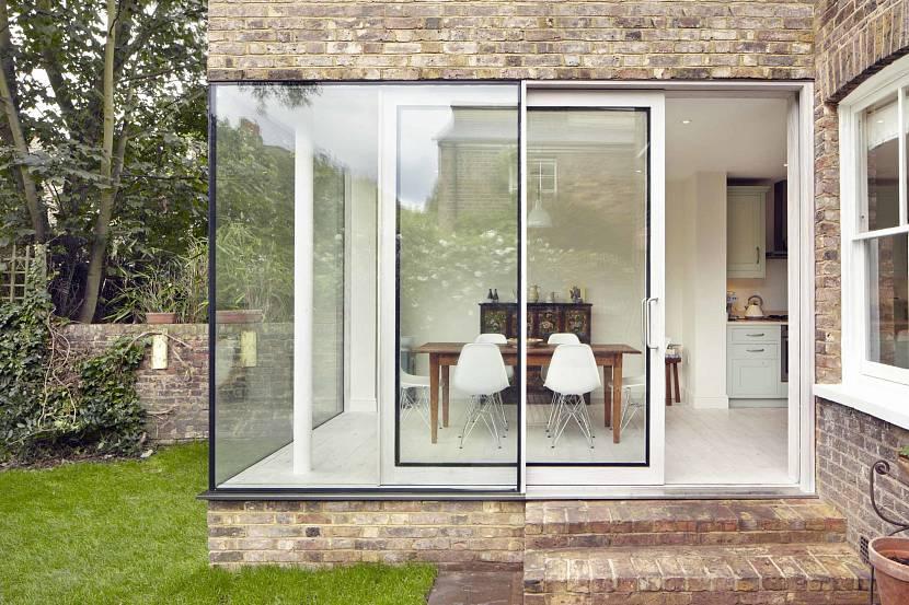 дизайн окон в частном доме