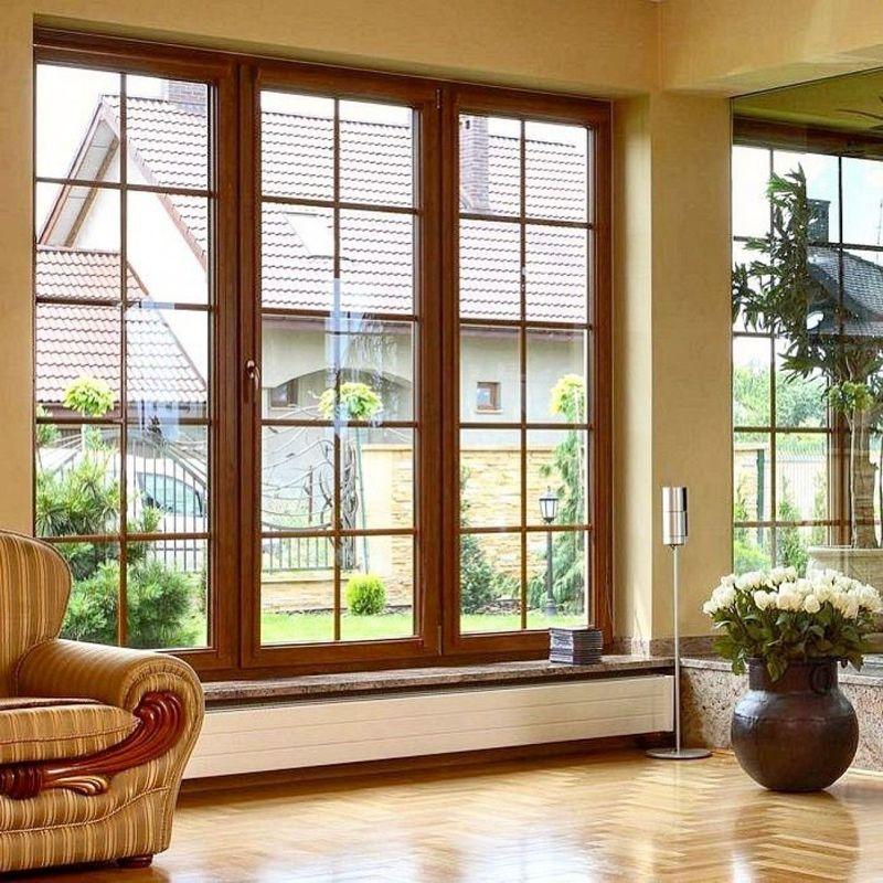 Фото: окно в классическом стиле
