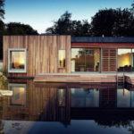 Дом с панорамными окнами не обязательно должен иметь большую площадь