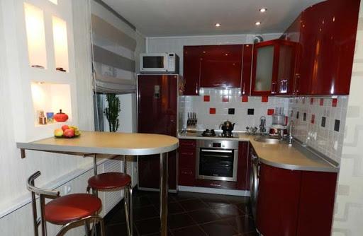 картинка барная стойка на кухне