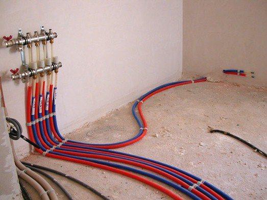 коллекторный режим подключения системы отопления