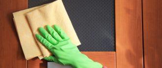 Чем чистить матовое стекло