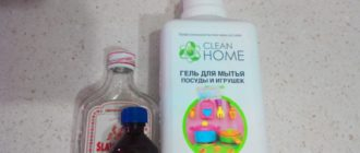 Из чего можно изготовить средство для мытья окон
