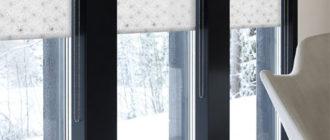 кассетные шторы в интерьере