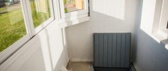 подпол на балконе