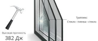 Rehau Триплекс-стекло