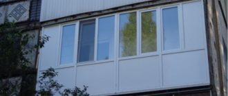 Балкон из сэндвич панелей